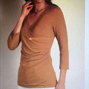Soft Surroundings Shapely Surplice Top
